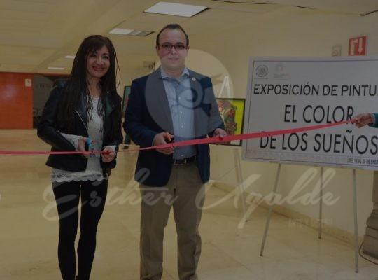 Exposición en la Asamblea Legislativa de la Ciudad de México